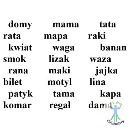 Ile słów widzisz
