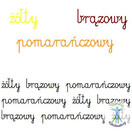 Kolory w napisach