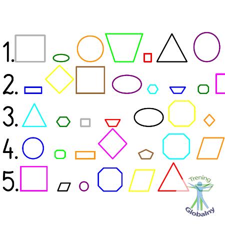 Kolorowe figury